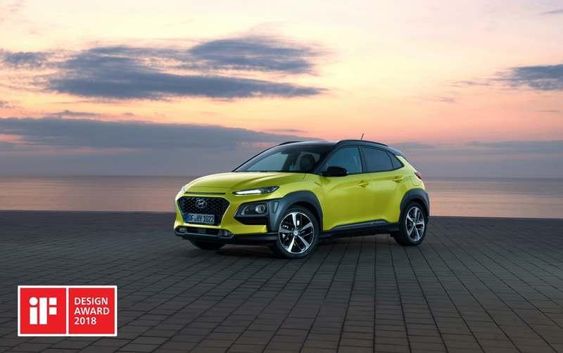 Hyundai Kona Ve I30 Fastback If Designdan Yılın En Iyi Tasarımı