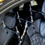 Microphone array for gauging in-car sound